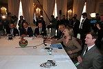 Secretary Clinton, Special Envoy Mitchell, and Quartet Representative Blair Discuss Issues