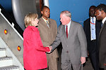 Secretary Clinton Arrives in Nairobi, Kenya