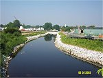 (Earlier photo) 2003 'AFTER' cleanup view from Lyman Street, Pittsfield, MA