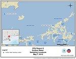 EPA Water Sampling Locations May 7, 2010