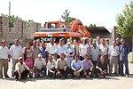 U.S. and Tajik Representatives Participate in a Handover Ceremony