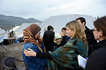 USAID Assistant Administrator Lindborg Interacts With Syrian Refugees