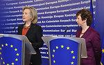 Secretary Clinton and EU High Representative Ashton Deliver a Joint Press Statement