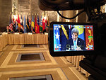 Secretary Kerry Participates in a Meeting of the Pacific Islands Forum
