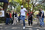 Americans and Zambians Compete in a Double Dutch Contest