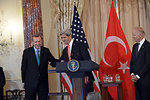 Secretary Kerry Delivers Remarks in Honor of Turkish Prime Minister Erdogan