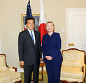UNGA 2009: Secretary Clinton Meets With Japanese Foreign Minister