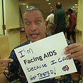 I'm Facing AIDS because I can get TESTED!