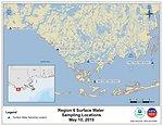 EPA Water Sampling Locations May 10, 2010