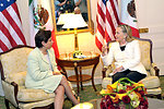 Secretary Clinton Holds a Bilateral Meeting With Mexican Foreign Minister Espinosa
