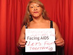 TRANSGENDER LATINAS ARE FACING AIDS LET'S FIGHT TOGETHER!