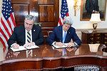 Secretary Kerry and Boston Police Commissioner Davis Sign a Memorandum of Understanding