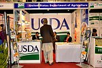 USDA stall at the DAWN Agri Expo 2012