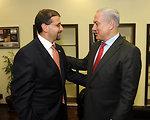 Ambassador Shapiro Meets With Israeli Prime Minister Netanyahu
