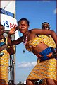 A Musician Performs in Zambia