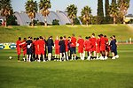U.S. National Soccer Team Hosts Open Practice