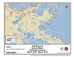 EPA Water Sampling Locations May 5-6, 2010