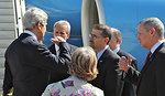 Secretary Kerry Arrives in Tel Aviv