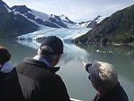 Administrator Gina McCarthy at Portage Lake Glacier, Alaska