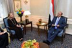 Secretary Clinton Meets With Yemeni President Hadi