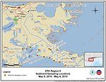 EPA Sediment Sampling Locations May 5-6, 2010