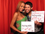 FACING AIDS Te Apoyo (I support you). No estas solo! FACING AIDS. (You are not alone! FACING AIDS).