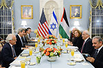 Secretary Kerry Hosts an Iftar for the Israeli Justice Minister Livni and Palestinian Chief Negotiator Erekat