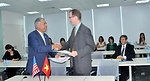 USAID, San Jose State University and Cisco Systems sign the Social Work Education Enhancement Program MOU