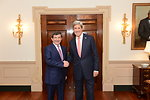 Secretary Kerry Meets With Turkish Foreign Minister Davutoglu