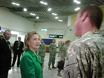 Secretary Clinton Wishes Troops Happy St. Patrick's Day