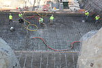 Rebar, Concrete Cooling and GPS