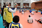 Secretary Kerry Watches Wounded Veterans Play Seated Volleyball