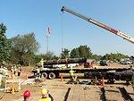 Loading pipe - Enbridge Oil Spill pipeline