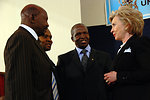 Secretary Clinton Visits Nairobi University