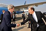 Secretary Kerry Bids Farewell to Ambassador Roos