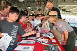Sharing water safety tips with River Cats fans