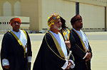 Omani Foreign Minister Yussef bin Alawi bin Abdullah Prepares To Greet Secretary Kerry
