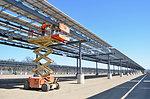 Solar project at Fort Hunter Liggett - March 2013