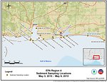 EPA Sediment Sampling Locations May 3-6, 2010