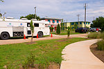 June 3, Taga bus monitors air in Dauphin Island, Ala
