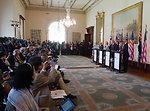 Secretary Gates, Secretary Clinton, Australian Foreign Affairs Minister Rudd, and Austrailan Defense Minister Smith Hold a Press Conference