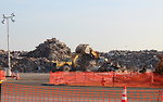 December 3, 2012 – Large debris pile near to EPA's 'Household Hazardous Waste' collection PAD