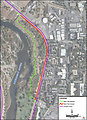 R5 and R6 American River Parkway Trail Detour MAP