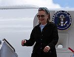 Secretary Clinton Arrives in Melbourne