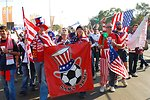 U.S. Fan Club, Sam's Army, Walks to U.S. vs. Algeria World Cup Match