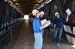 Corps to restore historic Knights Ferry Covered Bridge