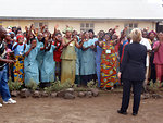 Secretary Clinton Visits Heal Africa Facilities in Goma
