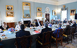 Secretary Kerry Hosts the Oceans Conference Roundtable