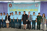 UXO clearance ceremony, June 17, 2011, in Danang, Vietnam.