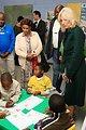 Dr. Jill Biden Observes Children
